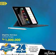 bca aeon cashback up to rp 1 000 000 ipad pro at infinite aeon mall bsd city