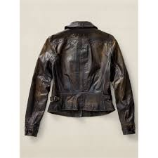 leather cycle jacket rrl studded motorcycle jacket in black lyst