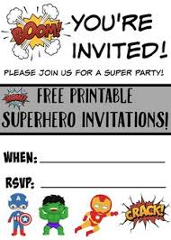 superhero printables son 4th bday pinterest superhero