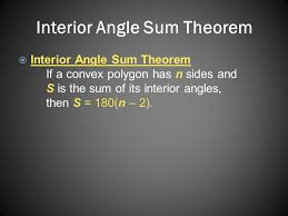 What Is The Sum Of Interior Angles Of A Octagon Angles Of Polygons Objectives Find The Sum Of The Measures Of