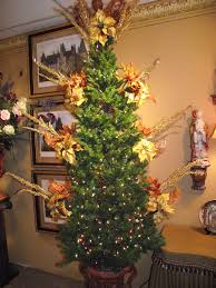 decorating a christmas tree in gold copper and red gantt u0027s