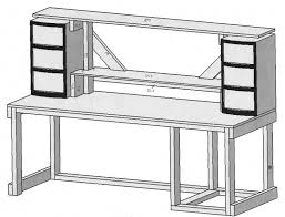building a desk jeff johnson