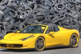 Ferrari 458 Yellow - novitec rosso tuned yellow ferrari 458 spider wallpaper