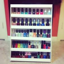 nail polish wall display beautylish