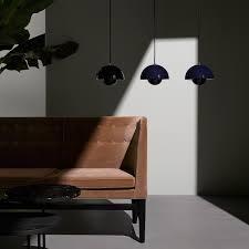 Paris Pendant Light by Flowerpot Pendant Vp1 Deep Green Great Dane