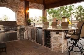 outdoor kitchen design ideas stone outdoor kitchens playmaxlgc com
