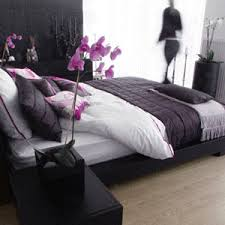 purple black and white bedroom purple black grey white bedroom this bamboo colored flooring is