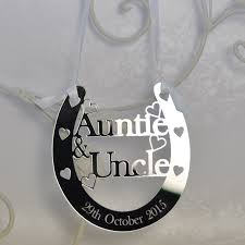 lucky horseshoe gifts personalised auntie luck horseshoe bridal wedding