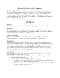 formal lab report template chemistry formal lab report format challenge iii