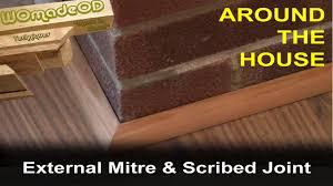 Laminate Flooring Beading Baseboard Quadrant Floor Trim 1 External Mitre And Scribed