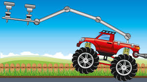 monster trucks videos for kids toy factory red monster truck save blue monster truck video