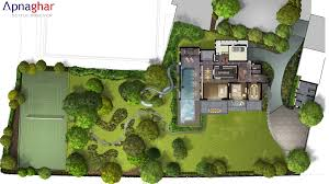 site plan design site plan of a farmhouse designed by apnaghar checkout more