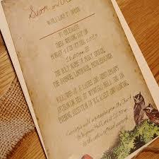 forest wedding invitations forest wedding invitations