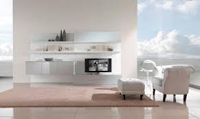 living room modern minimalist white living room tv design with