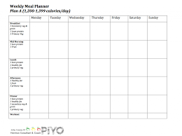 plan a piyo meal planning calendar this is the one my fitness