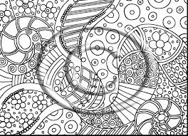 magnificent psychedelic hippie coloring page with trippy coloring