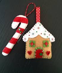 Felt Christmas Stocking Tree Decoration by Best 25 Felt Christmas Ornaments Ideas On Pinterest Christmas