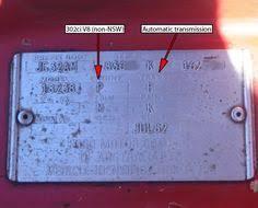 ford fairmont ghia xe esp vin paint code ford fairmont ghia xe
