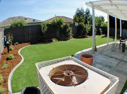 Fake Grass For Backyard by Faux Grass Black Earth Wisconsin Landscaping Business Backyard