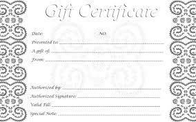 26 free printable gift certificate templates doc 495640 gift