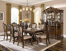 formal dining room set homelegance bonaventure park formal dining room set with