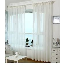 white sheer curtains with grommets effective sheer white
