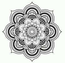 Lotus Flower Coloring Pages 411935 Mandala Flowers Coloring Pages