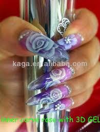 kaga nail supplies 3d nail art sculpture uv gel creative nail