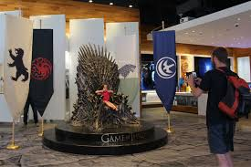Chair Game Of Thrones The Iron Throne Awaits U0027game Of Thrones U0027 Fans On Michigan Avenue