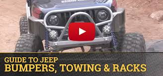 bumpers for jeep jeep bumpers towing racks quadratec