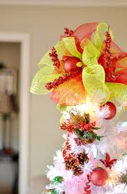 Ideas For Christmas Tree Toppers by My Diy Tree Topper Lamberts Lately