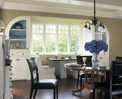 Dining Room Built Ins Kitchen Nook Built In Kitchen Traditional With White Wood