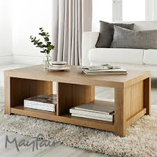 Buy Coffee Table Uk Buy Mayfair Chunky Wooden Coffee Table At Home Bargains