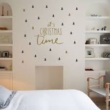 colormix christmas wall stickers christmas tree double color