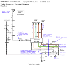 trailer wiring diagrams etrailer com within diagram 6 pin agnitum me
