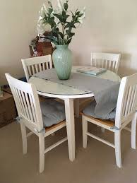 round drop leaf table and 4 chairs round drop leaf table 4 chairs in lisvane cardiff gumtree