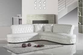 canap d angle en cuir blanc canape canapé cuir salon cuir mobilier privé
