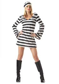 halloween costume robber women u0027s prisoner costume