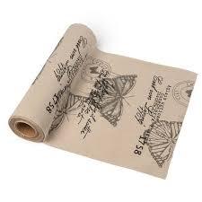 chemin de table mariage chemin de table pas cher pour mariage en tissu ou en papier
