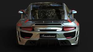 design attack porsche 911 attack revealed by anibal automotive design