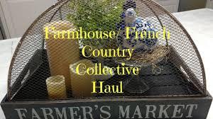 farmhouse decor haul french country hobby lobby marshalls