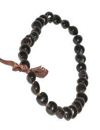 kukui nut brown polished kukui nut candlenut hawaiian wedding place