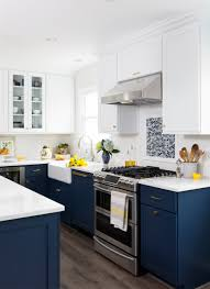navy blue kitchen cabinets 10 kitchen trends for 2019 put away the clutter pull out