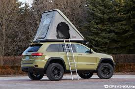 jeep wrangler overland tent jeep debuts seven new concept vehicles at easter jeep safari