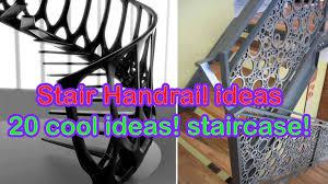 Wooden Handrail Designs Stair Handrail Ideas 20 Cool Ideas Staircase Youtube