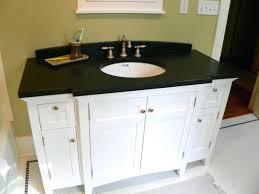 granite countertops for bathroom vanities dark granite installed
