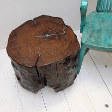 Pictures Of Tree Stump Decorating Ideas Best 25 Stump Table Ideas On Pinterest Tree Stump Table Log