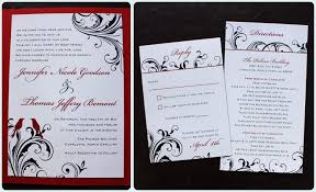 Red And Black Wedding Invitations Love Birds Archives Page 4 Of 6 Emdotzee Designs