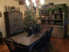 Primitive Dining Room Tables Antique Wood Wrought Iron Single Tree Horse Yoke 28