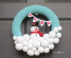 10 wreath crochet patterns
